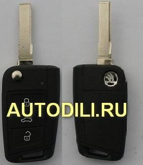 Ключ зажигания Skoda A7   5E0 959 753 D